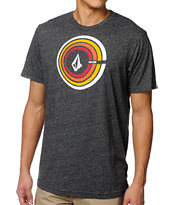 Volcom Sound Out Heather Black Tee Shirt