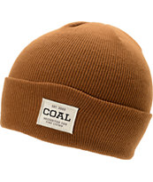 Coal The Uniform Brown Fold Beanie