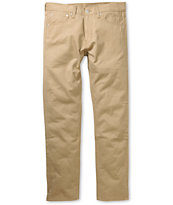 Levis 508 British Khaki Twill Regular Fit Pants