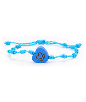 Keep A Breast Foundation Turquoise Knot Bracelet
