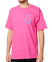 Odd Future Its Us Cross Pink Tee Shirt