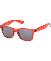 Glassy Nu Clear Red Sunglasses