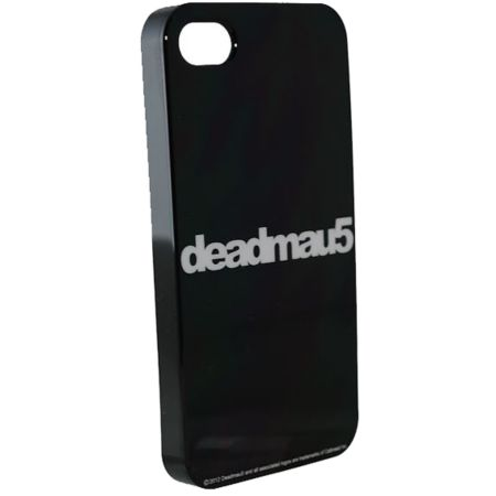 Deadmau5 Black & White Script iPhone 4 Case