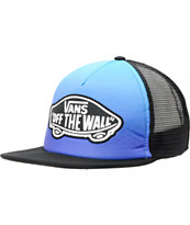 Vans Blue & Purple Color Fade Trucker Hat