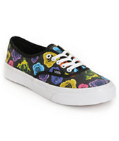 Vans Girls Authentic Slim Rose Shoe