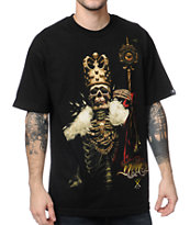 Sullen Nikko King Black Tee Shirt