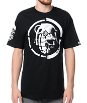 Metal Mulisha x Grenade Mashup Black Tee Shirt
