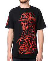 Metal Mulisha x Grenade Pull The Pin Black Tee Shirt