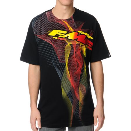 FMF Velocity Black & Red Tee Shirt