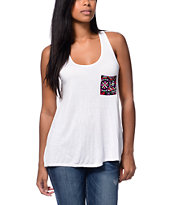 Empyre Girls McArthur White Racerback Tank Top