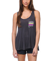 Empyre Girls McArthur Charcoal Racerback Tank Top