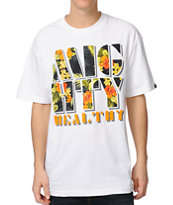 Mighty Healthy Fantasy Island White Tee Shirt