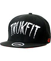 Trukfit Tales From Trukfit Black Snapback Hat