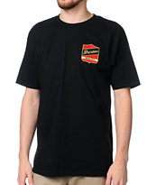 Brixton Ratchet Black Tee Shirt