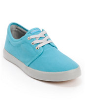 Dekline River Blue & Grey Canvas Skate Shoe