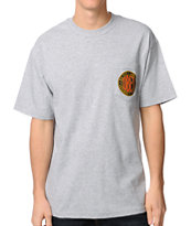 Obey Urban Renewal 2 Heather Grey Tee Shirt