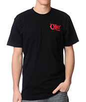 Obey Quality Delivery Black Tee Shirt