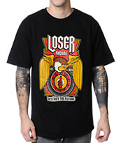 Loser Machine Condor Wheel Black Tee Shirt