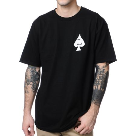 Loser Machine Aces High Black Tee Shirt