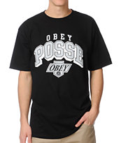 Obey Los Reyes Black Tee Shirt