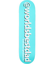Girl Eric Koston Worlds Best Dad 8.125 Skateboard Deck
