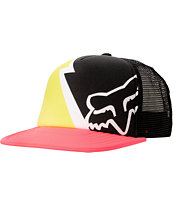 Fox Girls Faster Than Lightning Snapback Trucker Hat