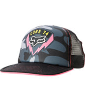 Fox Girls Special Ops Black Camo Trucker Hat