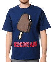 ICECREAM Pop Bar Blue Tee Shirt