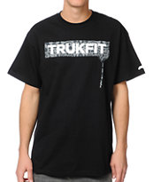 Trukfit Original Drip Cheetah Black Tee Shirt