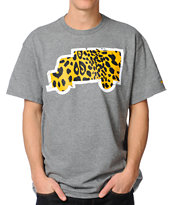 Trukfit Fill Up Cheetah Gunmetal Tee Shirt