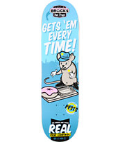 Real Brock Pest Control R1 8.38 Skateboard Deck