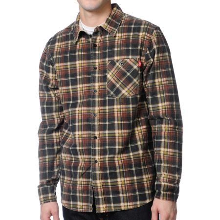 Stussy Richardson Plaid Flannel Shirt