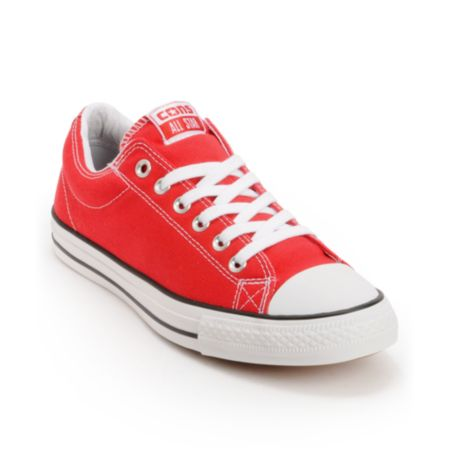 Converse CTS Red & White Skate Shoe