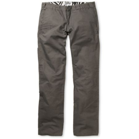 Trukfit Solid Grey Regular Fit Chino Pants