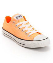 Converse Chuck Taylor All Star Washed Neon Orange Shoe
