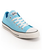 Converse Chuck Taylor All Star Washed Neon Blue Shoe