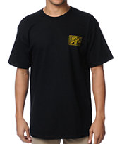 Dark Seas Black Water Black Tee Shirt