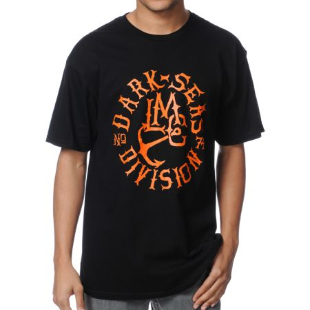 Dark Seas Notch Black Tee Shirt
