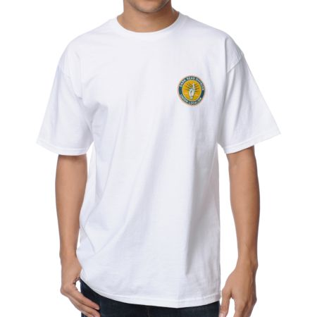 Dark Seas Local 74 White Tee Shirt