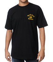 Dark Seas The Dock Black Tee Shirt