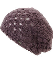 Krochet Kids Bella Sparrow Purple Slouchy Beanie