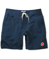 Obey Inlet Navy Blue Board Shorts