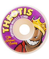 Spitfire Theotis Notorious 53mm Skateboard Wheels