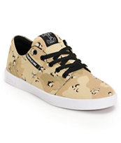 Supra Stacks Desert Camo Canvas Skate Shoe