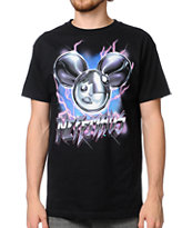 Neff x Deadmau5 Shock NeffMau5 Black Tee Shirt
