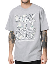 DGK About The Benjys Grey  Tee Shirt
