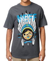Neff Headdress Charcoal Tee Shirt