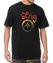 LRG Strictly For The Roots Black Tee Shirt