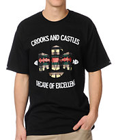 Crooks and Castles Mayan Bird Black Tee Shirt