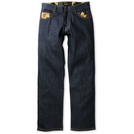 LRG Bushman True Raw Indigo Regular Fit Jeans